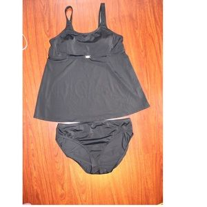 Motherhood maternity swimwear 2 pieces size L